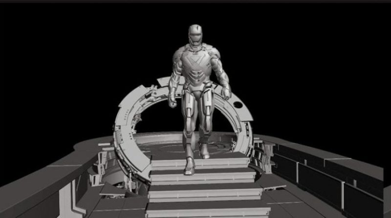 «Железный человек»